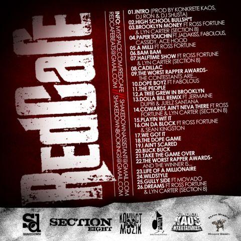 DJ RON & DJ SHUSTA auf dem neuen US Mixtape von RED CAFE!