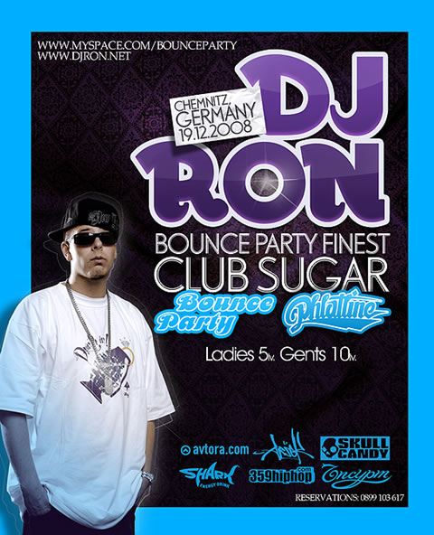 DJ RON in Sofia (Bulgaria) @ Club Sugar / 19.12.2008