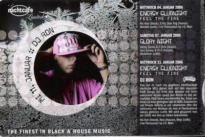 DJ RON @ Nachtcafe / Leipzig