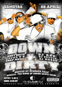DJ RON @ Down & Dirty Party 1 / Cube Club / Chemnitz