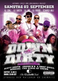 DJ RON @ Down & Dirty Party 2 / Cube Club / Chemnitz