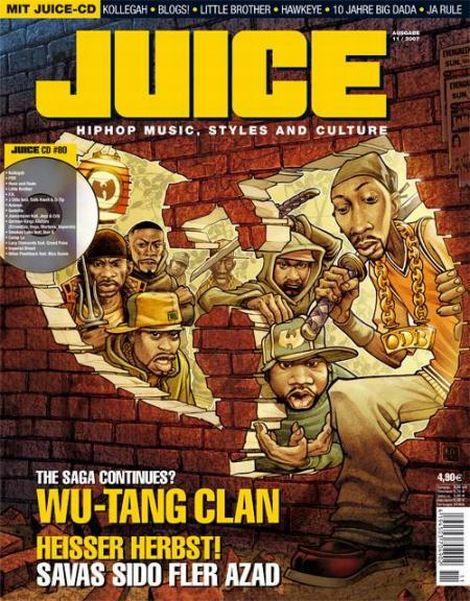 JUICE Cover November 2007