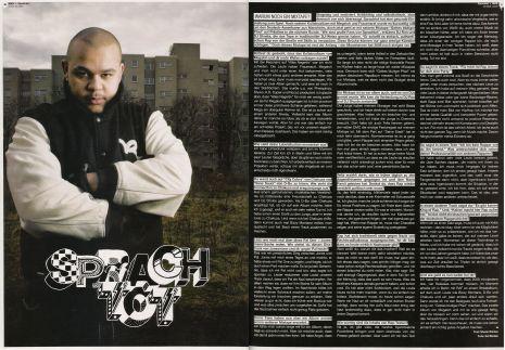 SPRACHTOT Interview / JUICE Maerz 2008