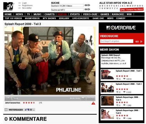 MTV.DE SPLASH! Reportage mit DJ RON, DJ MAXXX und TEFLA & JALEEL