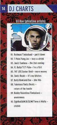 DJ RON im PORT01 Chemnitz / Maerz 2007 / DJ Charts