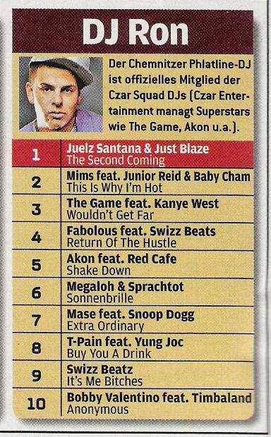 DJ RON im BRAVO Hip Hop Special / Maerz 2007