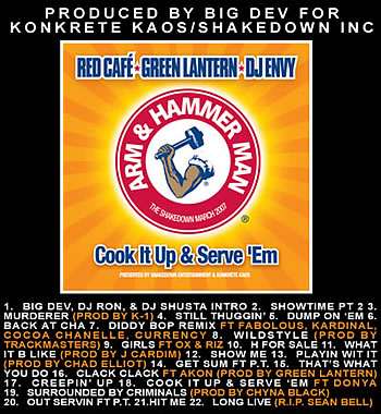 "RED CAFE / DJ ENVY / GREEN LANTERN ""cook it up & serve\'em\"""