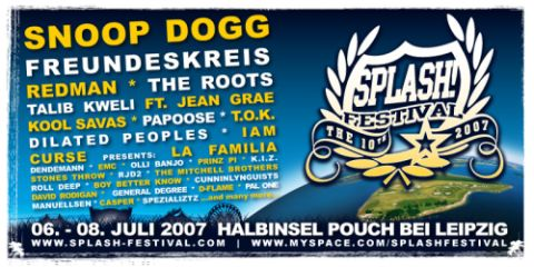 SPLASH! Festival 2007 - Line Up