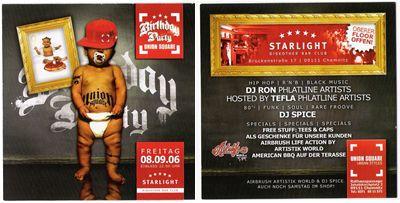DJ RON @ Union Square Birthday Party / Starlight / Chemnitz